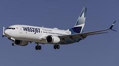 C-FNWD_LAS_Landing_26L (MAB757200) Tags: westjet aircraft airplane airlines airport jetliner landing las klas boeing runway26l mccarran