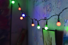 _DSC5859 (Aris_Totel) Tags: bokeh light lights blinke newyear christmas object thing items party