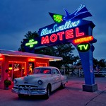 Blue Swallow Motel #Route66 thumbnail