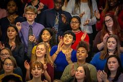 Bridges 2 Harmony (Phil Roeder) Tags: desmoines iowa desmoinespublicschools roosevelthighschool choir chorus gospel music singing canon6d canon70200f28
