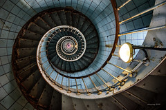 To infinity and beyond... (alexring) Tags: phare lighthouse staircase spiral stairs france charentemaritime nikon d750 alexring lacoubre