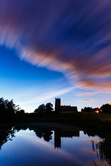 St Michael's Church, Marbury (bitrot) Tags: astronomy astrophotography bigmere cheshire church lake marbury night nightphotography nighttime nocturnal stmichaels stmichaelschurch lightroom canoneos5dmarkiii ef1740mmf4lusm 17mm f40 790sec iso400