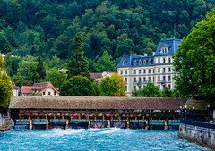 Deja que pase el agua. (Jesus_l) Tags: europa suiza cantóndeberna thun ríoaar puente jesúsl