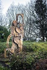 Welder (or is it a Burner?) Sculpture, Dumbarton (Joe Son of the Rock) Tags: welder sculpture glasgowroad dumbarton burner