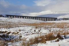Ribblehead & Whernside (Yorkshire Pics) Tags: actualsnow ribblehead ribbleheadviaduct yorkshiredales yorkshiredalesnationalpark landmark iconic iconiclandmark railwaybridge