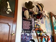Armonía (allozano2002) Tags: home casa sombrero gorra onda parís placa caballo concod vitral puerta cuarto madera posters
