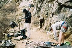 Technical (Brogan's Camera) Tags: rock climbing outdoors adventure nature rope 35mm film analog pentax
