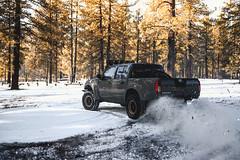 DSC_8275 (Steven Lenoir) Tags: nissan nissanfrontier frontier clubfrontier d40 prerunner prerunning snow mountlaguna mountain offroading offroad 4x4 4x2 snowing drift drifting snowdrifting racetruck prerunners trophytruck