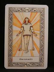 The World. (Oxford77) Tags: tarot thenorsetarot norse viking vikings cards card tarotcards