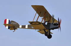 B.E.2c (Bernie Condon) Tags: uk british shuttleworth collection oldwarden airfield airshow display aviation aircraft plane flying militarypageant june june2018 royalaircraftfactory be2 rfc royalflyingcorps royalairforce raf military warplane ww1 lightbomber bomber nightfighter fighter reconnaissance biplane