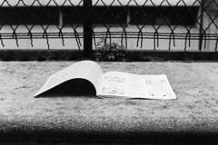 La Pagina della Sfinge... (sirio174 (anche su Lomography)) Tags: parolecrociate lasettimanaenigmistica lapaginadellasfinge gioco abbandonato abandoned como italia italy