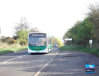 YX57BXC - Kidderminster Road, Iverley, April 2014.