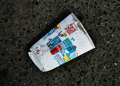 How Are We Doing? (justingreen19) Tags: america mcdonalds mcdonaldslitter mcdonaldsrubbish ny nyc newyork newyorkcity sanitation street unitedstates city disregarded environment environmental fastfoodrecycling flat justingreen19 litter litterpick litterpicking manhattan mcdonaldscup paper papercup pavement puttinginbin recycle recycling recyclingpaper sidewalk squashed urban urbanabstract usa waste graphics logo design savetheplanet