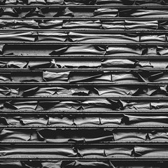Transition (justingreen19) Tags: america closed ny nyc newyork newyorkcity unitedstates abstract bowery decay horizontal horizontallines justingreen19 layers manhattan mono oxidation peeling peelingpaint rusting rusty shutters square streetphotography texture urban urbanabstract urbandecay urbanlines usa transition underneath