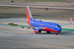 N901WN Boeing 737-700 Southwest (SamCom) Tags: swa southwest southwestairlines 737 boeing 737700 kdal dal dallaslovefield lovefield n901wn
