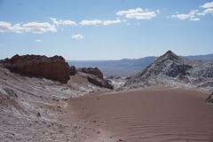 The Valley of the Moon (Valle de la Luna), San Pedro de Atacama, the Atacama Desert, Chile. (ER's Eyes) Tags: valledelaluna valedalua thevalleyofthemoon highlands altiplano altiplanoschilenos tierrasaltaschilenas chileanhighlands volcano vulcão montanha mountain neve snow chile sanpedrodeatacama spa desertodoatacama atacama atacamadesert desiertodeatacama desert deserto desierto nortrek nortrekatacama carlosmellasepulveda emmanuel argentiniantravelguide tour passeio sharedtour passeiocompartilhado hostalsumajjallpa albergue hostal sernatur southamerica americadosul nature natureza landscape paisagem unesco northofchile theandes cordilheiradosandes salardeatacama alabaltitilocejar thesaladoriver emmanuelourfineargentiniantravelguide comunidadatacameñadesolor cordilleradesal saltmountainrange thelosflamencosnationalreserve formaçõesrochosas rockformations lunarsurface dunas dunes