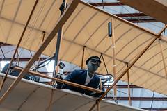 Replica of the Wright Flyer (Serendigity) Tags: arizona pimaairspacemuseum tucson usa unitedstates wrightflyer aircraft aviation biplane hangar indoors museum replica unitedstatesofamerica