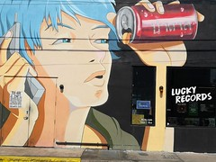 Wynwood Walls (Toni Kaarttinen) Tags: usa unitedstates florida wpb america miami miamidade wall graffiti stencil streetart art wynwood walls wynwoodwalls face can