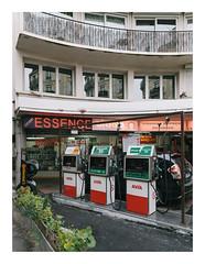 Essence Express (Thomas Listl) Tags: thomaslistl color gasstation essence paris france urban city topography car station windows architecture balcony ngc