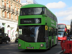 Arriva London LT4 (Teek the bus enthusiast) Tags: victoria putney bridge route 36 507 london buses go ahead abellio metroline tower transit national express