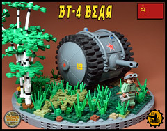 BT_4 Bear 01 (Cooper Works 70) Tags: lego tank military ww2 wwii alternative custom stickers