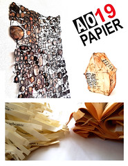 Papier 19 in Amsterdam (Ines Seidel) Tags: workshop exhibition amsterdam paper paperart inesseidel atelieropen event ausstellung