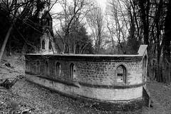 Remains of St Micheal and All Angels, Bedham (Puckpics) Tags: stmichealandallangels bedham school rural schoolroom 1880 parishchurch ruin abandoned derelict westsussex community bedhamchurch petworth