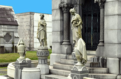 NOLA Metairie Cemetery (dr_marvel) Tags: nola neworleans metairie cemetery statues statuary tombs graves louisiana mausoleum