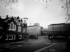 Beehive Pub, Brentford (dominicirons) Tags: brentford westlondon redevelopment halfacre highstreet beehive pub blackwhite blackandwhite