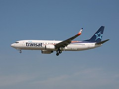 Air Transat                                         Boeing 737                                       C-GTQX (Flame1958) Tags: airtransat airtransatb737 boeing737 b737 737 160219 0219 2019 flap flap2019 fll kfll fortlauderdaleairport 8018 cgtqx