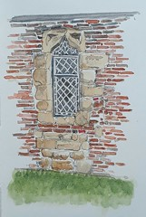 The Merchant Adventurers Hall, Piccadilly, York: A window