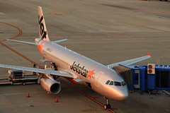 Jetstar (Teruhide Tomori) Tags: airplane aircraft jet japan airport chubucentrairinternationalairportnagoya セントレア 日本 飛行機 旅客機 ジェット機 飛行場 中部国際空港 愛知県 jetstar airbusa320 ジェットスター