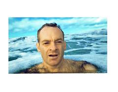 Swimming, Brighton Beach, Christchurch NZ (jasoux) Tags: swim swimming nz newzealand selfie selfportrait water candid canterbury christchurch