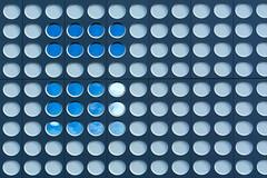 18 round windows (Jan van der Wolf) Tags: map191172v facade circle windows gevel architecture architectuur utrecht 18 roun rond