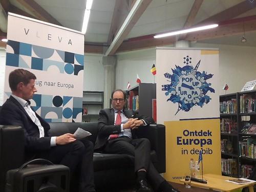 Rob Heirbaut en Jan Hoogmartens