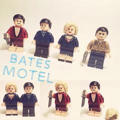 Lego Bates Motel (Onomatopoeia54) Tags: normabates photooftheday series show tv photography art minifigures custom horror normanbates batesmotel lego