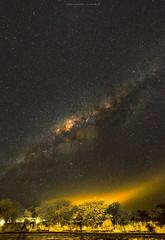 P8232851e1 DF LM (David W Geddes) Tags: namibia namutoni lodge way milky lights shadows sky night