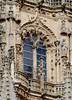 Burgos (España). Catedral. Cimborrio. Ventana del sur (santi abella) Tags: burgos castillayleón españa catedraldeburgos cimborrio