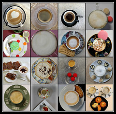 2019 Sydney collage: Coffee Tops #2 (dominotic) Tags: 2019 coffeeobsession coffeetops food drink confectionery chocolate foodphotography yᑌᗰᗰy coffeetopcollage coffeecups coffeemugs coffeefoam coffeeandcupsaucer sydney australia