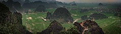 The view from the top (bodro) Tags: redriverdelta vietnam hazyday hiddengem hills ninhbinh panorama ricefields rocks travelphotography viewfromthetop