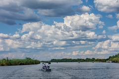Река Чобе (Oleg Nomad) Tags: африка ботсвана чобе сафари africa botswana chobe safari travel река облака river clouds blue