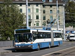 Zurich trolleybus 111 (pretsend (jpretel)) Tags: mercedes 0405gtz trolleybus zurich vbz gelenkbus
