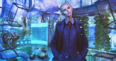 World is not enough (clau.dagger) Tags: theepiphany secondlife gacha event belleepoque suit jacket s0ng eyes disorderly scifi cyber decor lelutka theforge jian