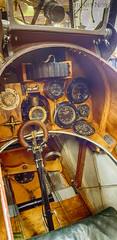 Cockpit of Royal Aircraft Factory S.E.5a F-904 G-EBIA - The Shuttleworth Collection Old Warden (stu norris) Tags: royalaircraftfactoryse5a f904 gebia theshuttleworthcollection oldwarden ww1 fighter warbird historic aviation cockpit