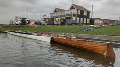 (Sam Tait) Tags: sailing valley trey river vintage retro classic wooden wood boat row club rowing elbow devils trent