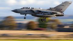 Tornado GR4. ZA597. (Nigel Paine) Tags: raflossiemouth lossiemouth tornadogr4 gr4 fastjet canon1dmkiii tamronsp150600mm panning panningshot