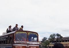 Siliguri, West Bengal (Paolo Levi) Tags: bus roof passenger siliguri westbengal india canon ftb fd 50mm ilfochrome ngc