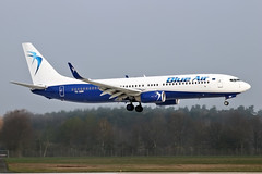 Boeing B737-82R(WL) - YR-BMK - HAJ - 06.04.2019 (Matthias Schichta) Tags: haj hannoverlangenhagen eddv blueair boeing b737800 yrbmk planespotting flugzeugbilder