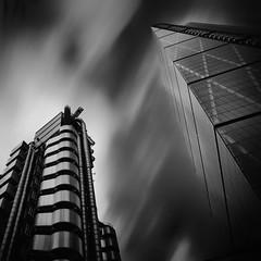 Sky time. (Elsegood Collections) Tags: london lee longexposure building monochrome blackandwhite sky architecture nikon sigma d7100