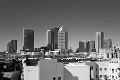 Downtown Tampa, FL (Ginori Photography & Film) Tags: fuji fujifilm xpro xpro1 fujinon 35mm f2 fujinonxf35mmf20rwr downtown tampa bay florida monochrome blackandwhite bw